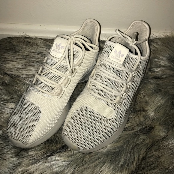 b647bcc6c1bef adidas Shoes | Tubular Shadow Heather Cream And Gray | Poshmark